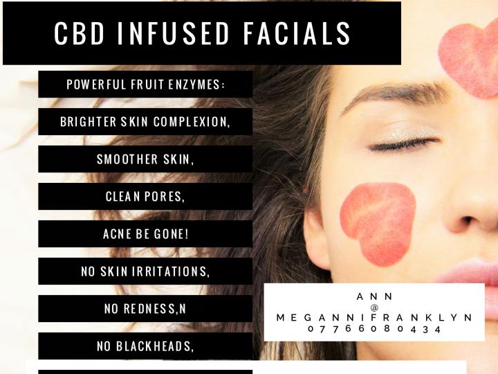 Cbd infused skincare